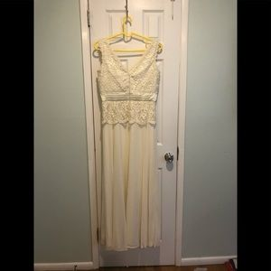 Long dress for weeding or prom